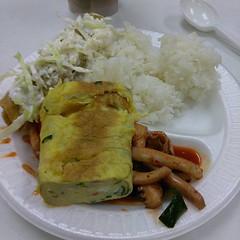 Korean food, pulpo and Mexican taco