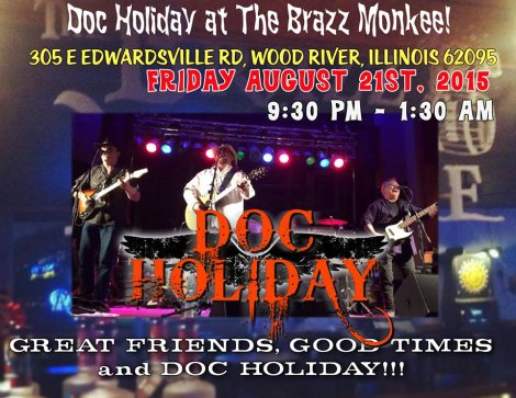 Doc Holiday 8-21-15