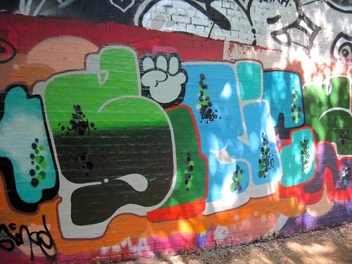 Parklands Walk Graffiti