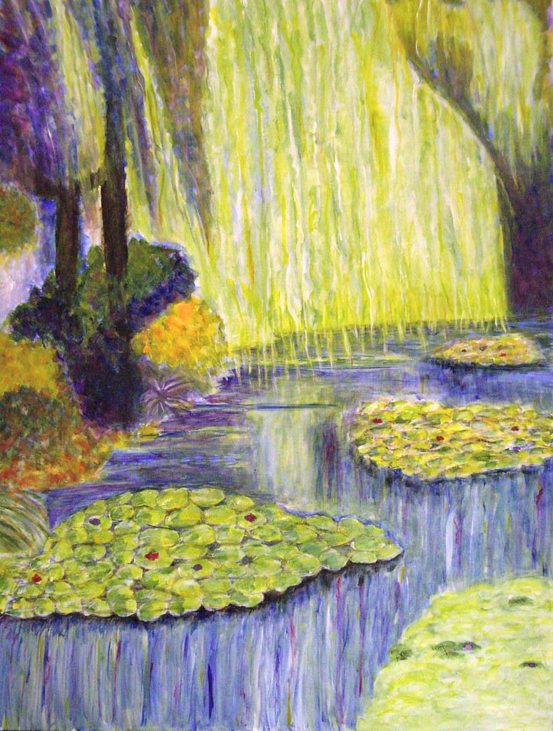 Monet's Garden painting
