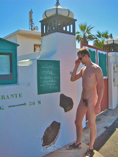 naturist 0000 Charco del Palo, Lanzarote, Canary Islands, Spain