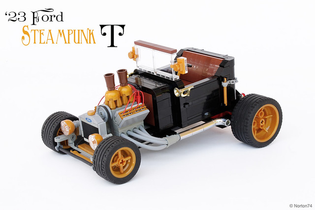 "Steampunk ""T"" - '23 Ford T-bucket"