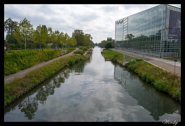 Alsacia Haguenau Estrasburgo - Canal Marne au Rhin