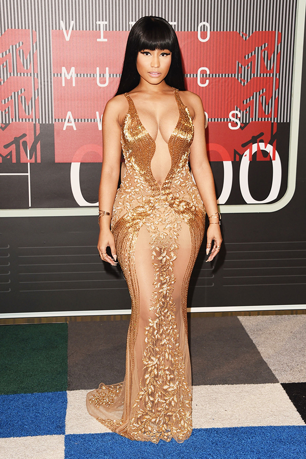 2015 MTV VMA Best Dressed - Nicki Minaj in La Bourjoisie