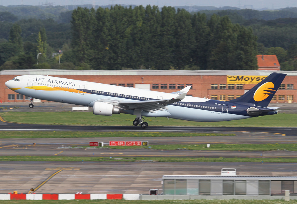 Rotating off from RWY25R bound for Delhi DEL. Delivered 12/2012.