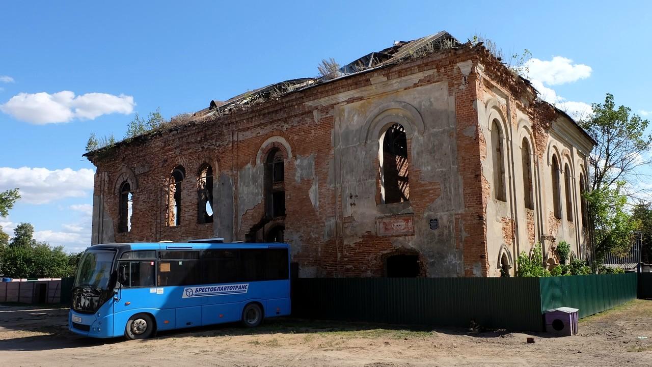 Руины синагоги, Ружаны, Беларусь