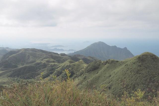金瓜石海岸及基隆嶼-燦光寮山頂