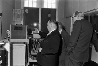Television transmission tests started 14.3.1957