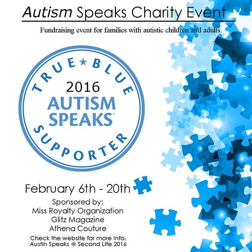 Launch of Autism Speaks Miss Royalty Charity Event
