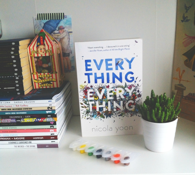 vivatramp book haul everything everything nicola yoon book blog