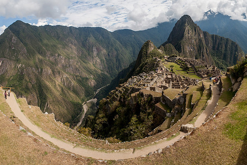View of the Machu Picchu ruins from a terrace, Peru | by sandeepachetan.com
