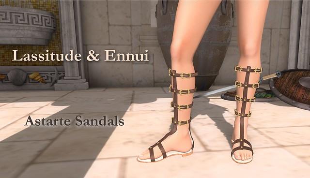 Astarte Sandals by Lassitude & Ennui