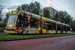 GVB Combino tram 2087, Lijn 17, Tussen Meer