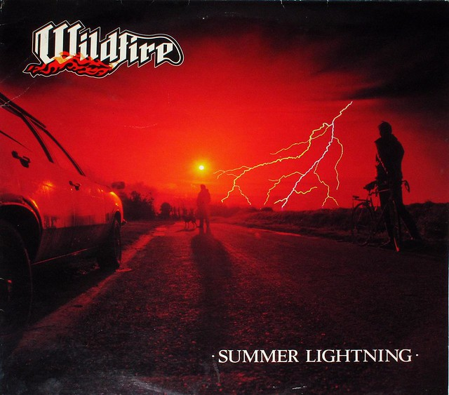 "WILDFIRE SUMMER LIGHTNING NWOBHM 12"" LP"