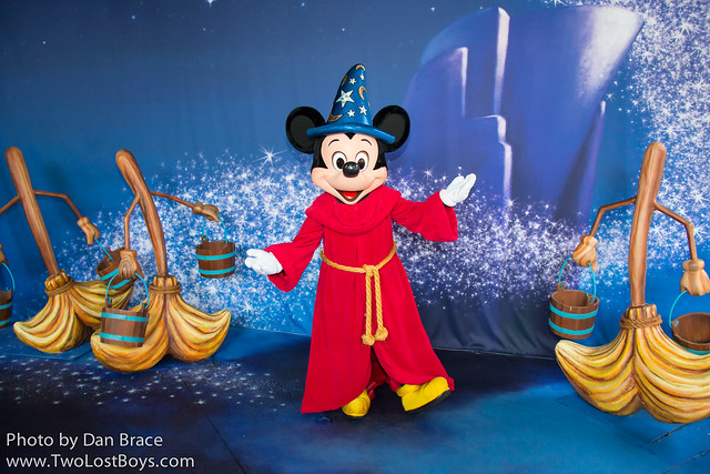 Meeting Sorcerer Mickey