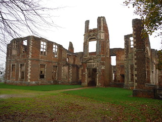 Houghton House, frontal view (II)
