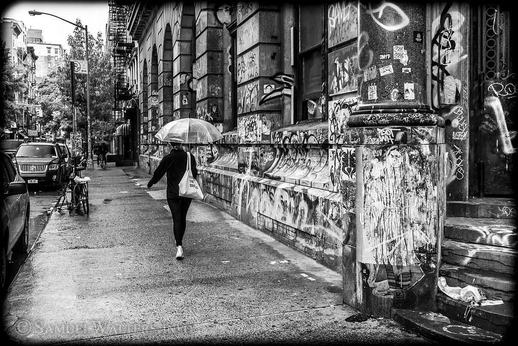 Rain on the Bowery