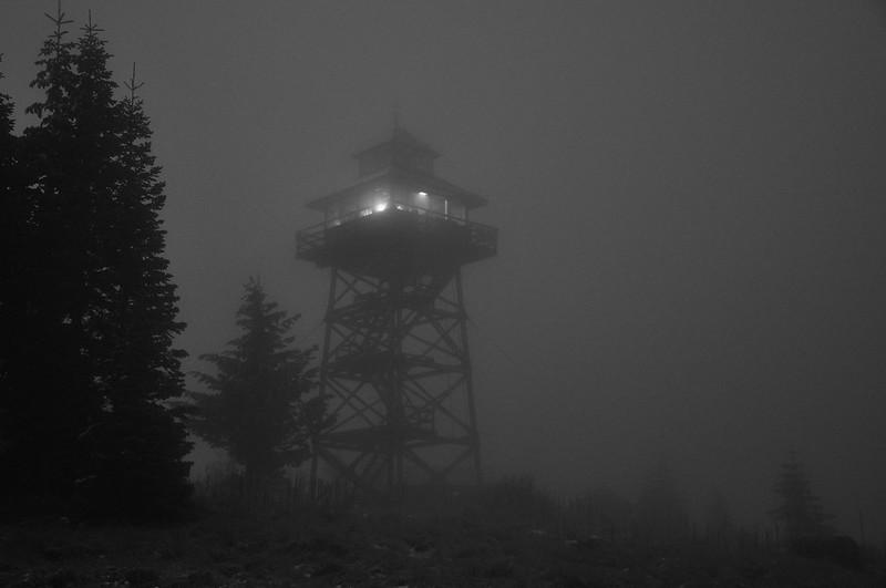 Lookout in the dark