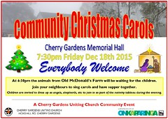 Cherry Gardens Uniting Church Community Christmas Carols 2015