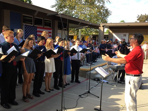 Chamber Singers at Banyan's 9/11 Celebration