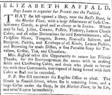 Manchester Mercury 1766