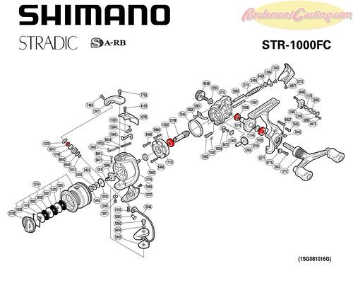 Schema Stradic 1000FC