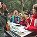 jlukasavige: Being sworn in as Junior Rangers at Muir Woods National Monument. Brie's arm was getting tired.