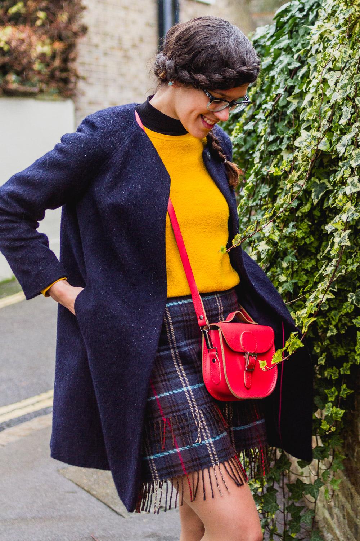 british tartan outfit
