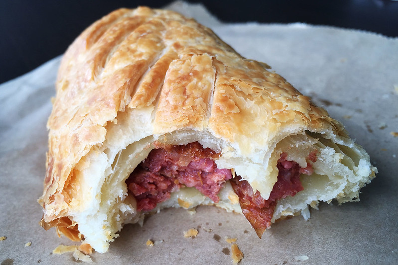 Sausage roll, Cafe Parco