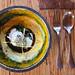 3rd course: corn tamale, oaxacan mole, short rib, swiss chard