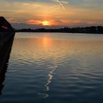 Evening at Preston Docks