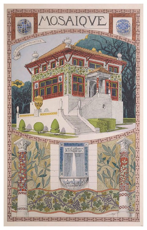 010-Mosaico-Esquisses Décoratives- 1905- Rene Binet