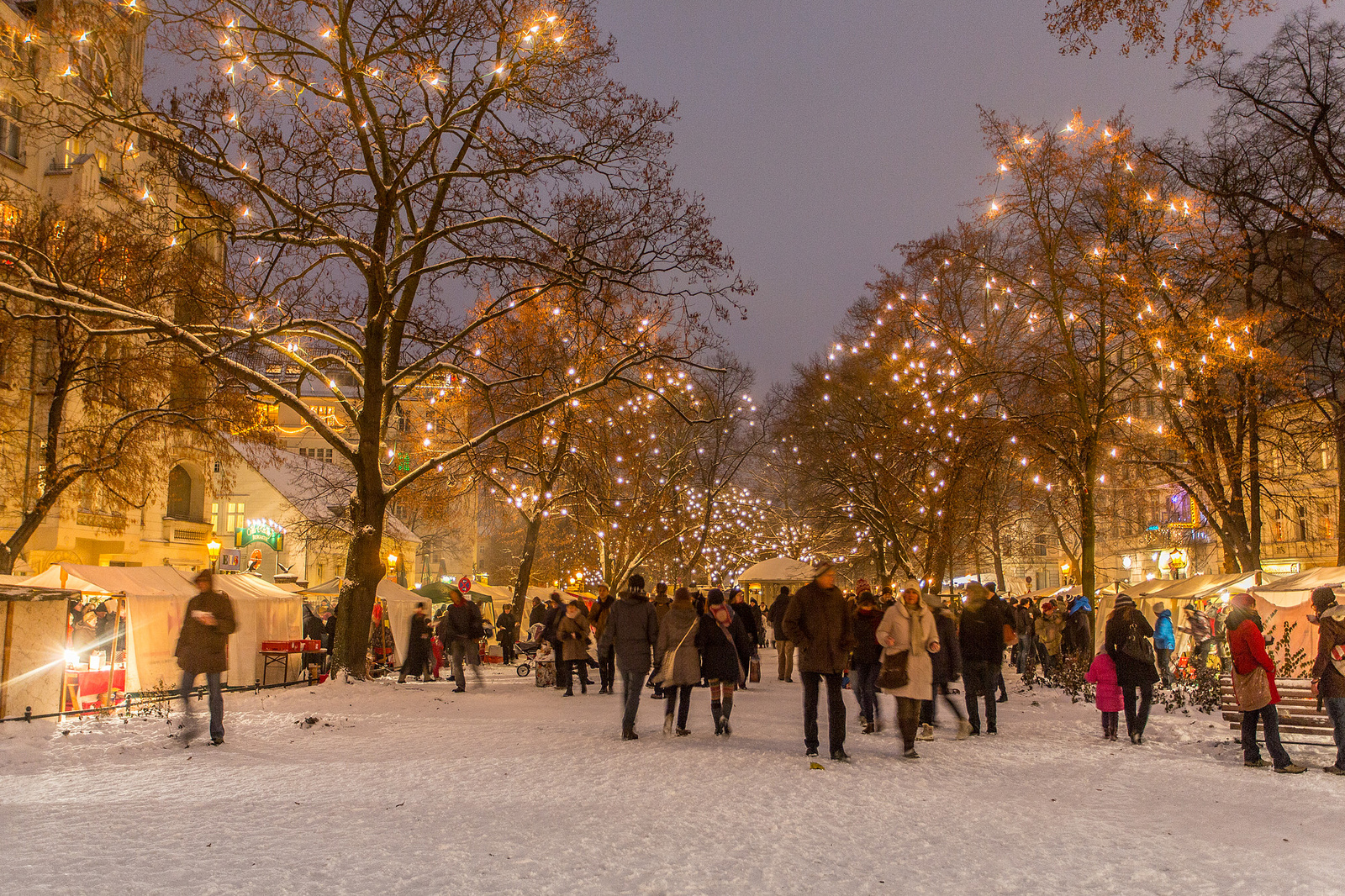 Christmas Market in Berlin (Richardplatz), Germany Credit VisitBerlin/Wolfgang Scholvien