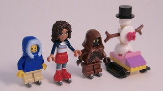 LEGO Advent 2015 Skating Party