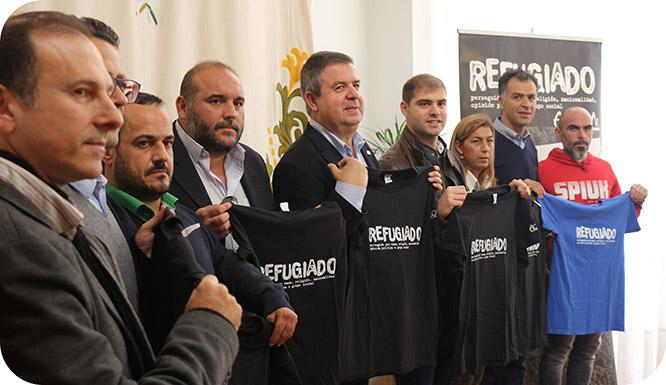 El partido contra La Hoya, a beneficio de los refugiados sirios
