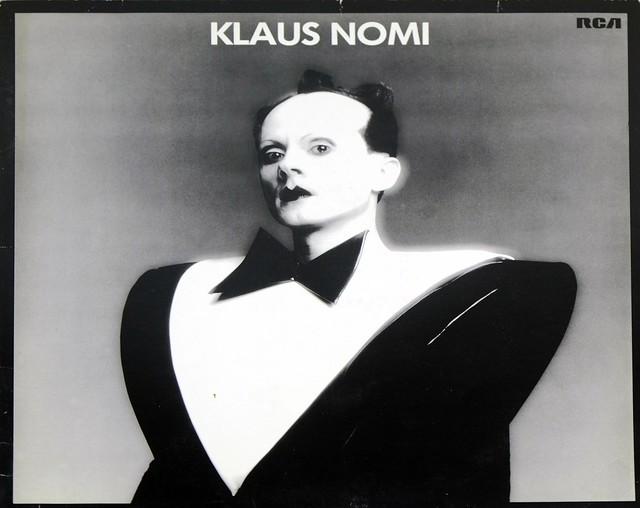 """Klaus Nomi Klaus Nomi Self-titled 12"""" VINYL LP"""