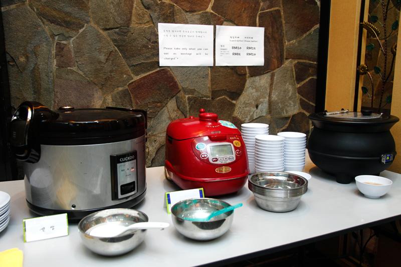 San Nae Deul Noonsaram Rice and Soup