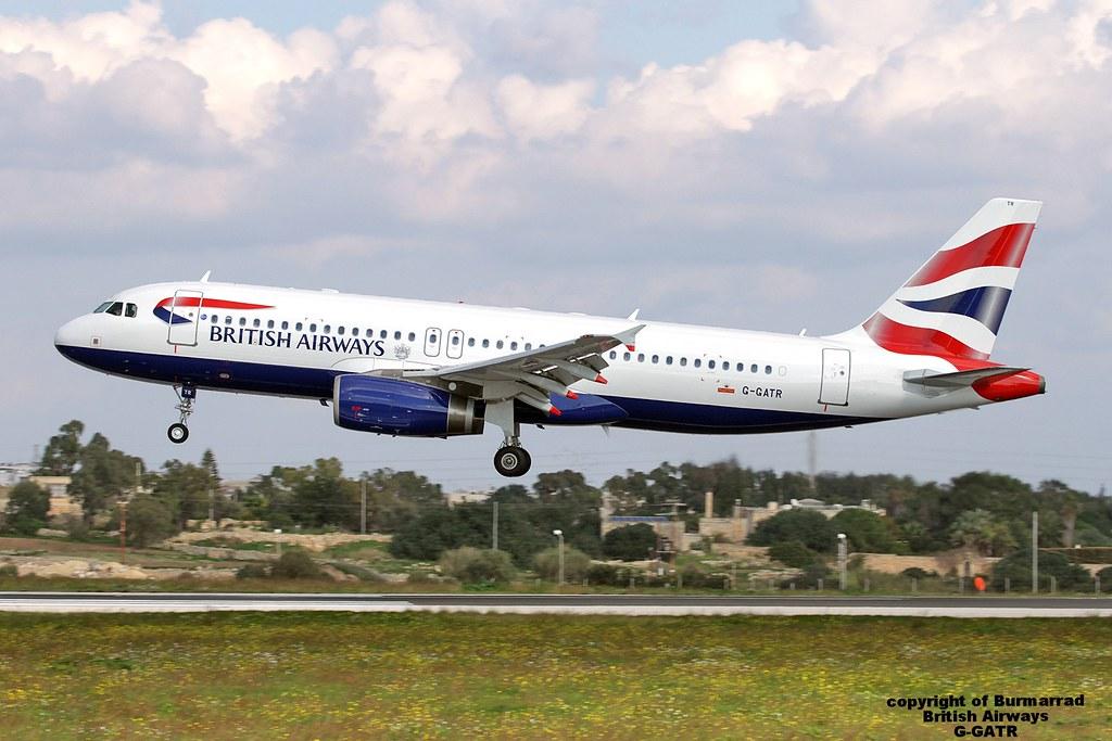 G-GATR - A320 - British Airways Ltd (2012–15)