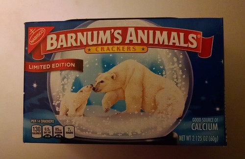 Nabisco Barnum's Animal Crackers in a Limited Edition Box