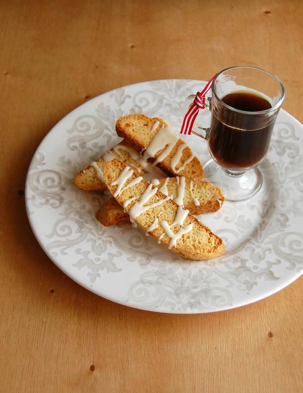 Eggnog biscotti / Biscotti de eggnog