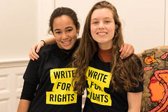 Write4Rights 2016 at Amnesty House