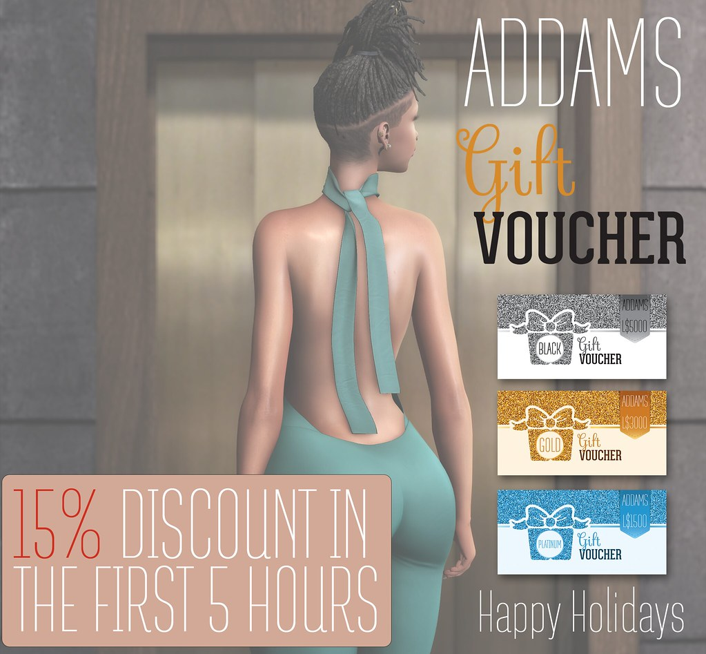 ADDAMS GIFT CARDS ♥♥ - SecondLifeHub.com
