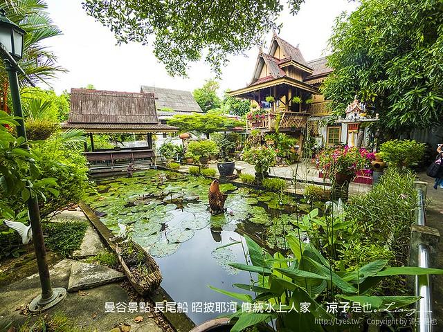 曼谷景點 長尾船 昭披耶河 傳統水上人家 104