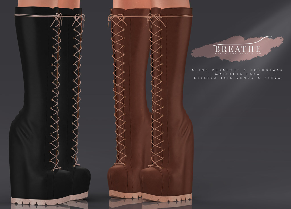 [BREATHE]-Stargirl Boots - SecondLifeHub.com