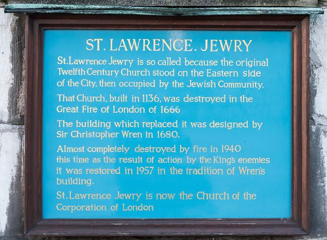 Photo of Christopher Wren green plaque