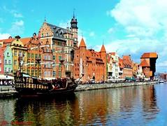 Gdańsk - Motława i port turystyczny