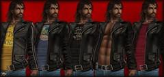 L&B S'wear Nomad Leather Jacket