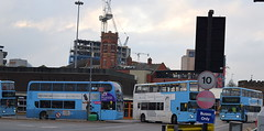 Pool Meadow Bus Station, Coventry (late afternoon of 21st January 2017)