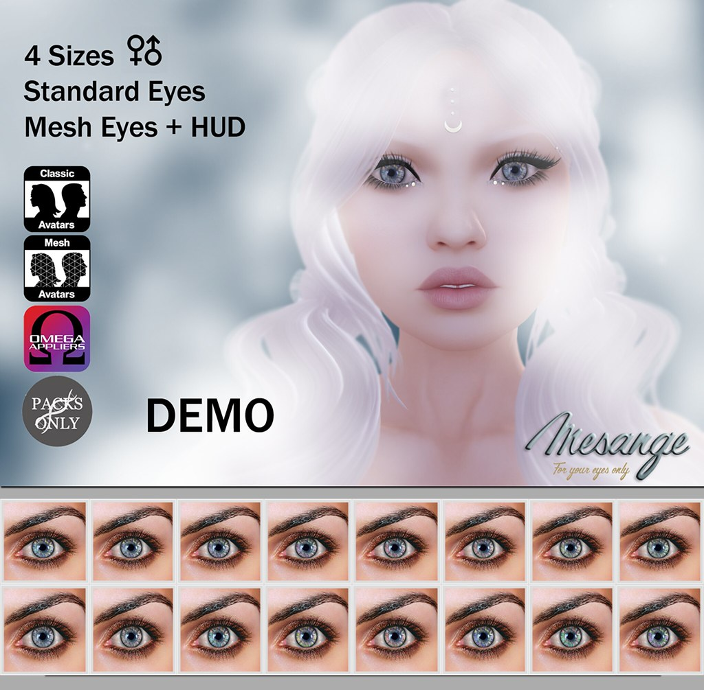 MESANGE - Jasper Eyes for THE CHAPTER FOUR - SecondLifeHub.com