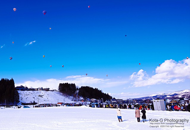 Balloon Festival  Ojiya City  Niigata Prefecture Japan.